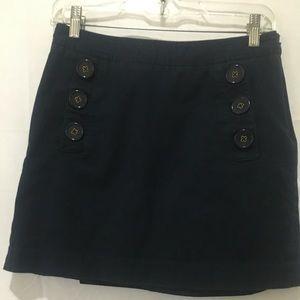 Banana Republic Blue Skirt Size 2